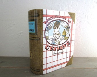 French Ceramic Cooking Dictionary Kitchen container made in France