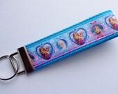 Key Fob/ Wristlet/ Keychain/ Frozen print Ready to Ship