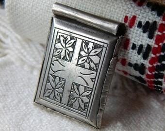 Vintage KITAB Moroccan Amulet; Traditional Tribal Symbols; Protective Amulet; Western Saharan Pendant; Unique Pendant; Collectors Piece.