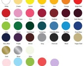 """5 Sheets of 12"""" x 15"""" Siser Easyweed T-Shirt Iron-on Heat Transfer Vinyl Sheet - You pick your colors."""