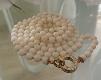 30% OFF White Coral Necklace