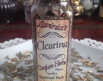 Clearing Herb Blend - Spiritual clearing and cleansing - Remove negative energy - Folk magic - Hoodoo - Pagan - Witchcraft - Wicca