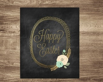 Happy Easter 8x10 Printable