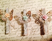 Vintage Altered Clothes Pins