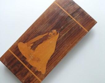 Vintage Sushi Board/Cheese Board/Cutting Board 1970s