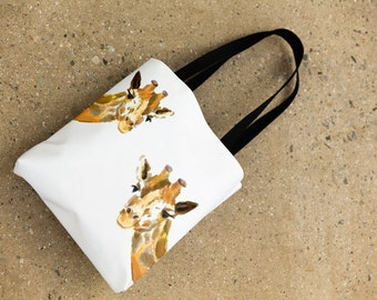 Girafe, sac fourre-tout, cartable, sac Shopping, Cabas Casual, sac d'école, sac de girafe