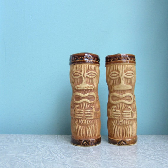 Tiki Salt And Pepper Shakers 61 Design Pmp