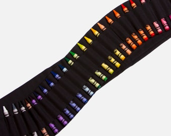 Kids Crayon Bandolier - Black