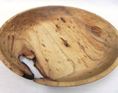 Wooden bowl with void, 393
