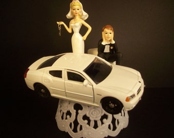 dodge truck wedding cake topper auto mechanic peterbilt tractor trailer semi by mikeg1968 13664