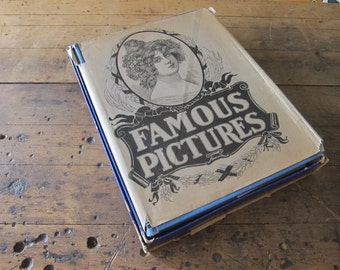 Famous Pictures copyright 1902 by Thomas & Thomas