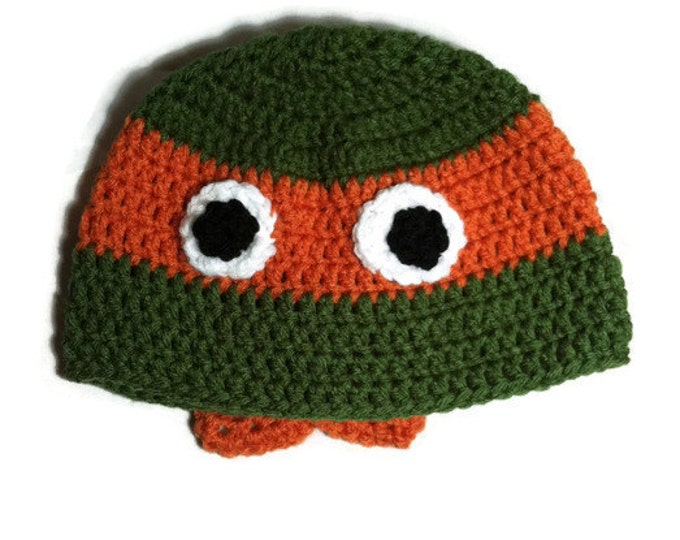 Ninja Turtle Hat / Teenage Mutant Ninja Turtle Hat/Beanie/Cap