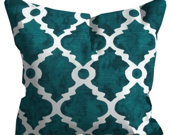 teal lumbar pillow, pillow cover, 12x18, lumbar throw pillow, chair pillow, throw pillow, pillow case, teal pillow, pillow sham, home decor
