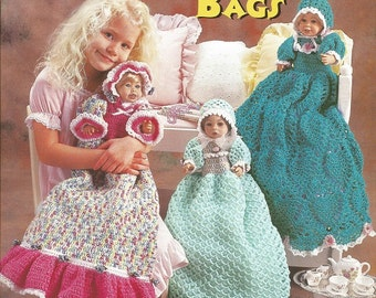 Free Crochet Patterns For Pajama Bags : Crochet Barbie Doll Clothes Pattern Ballgown by luvinthecrafts