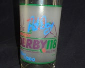 AUTOGRAPHED 1992 Kentucky Deby glass Limited Edition signed by winning jokey