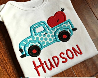 Valentine Truck Shirt - You Customize