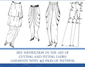 1914 Art Deco Ladies Fashion Patterns Design Your Own Theatre Costumes for Dressmakers 41 Pages Printable or Read on Your iPad or Tablet