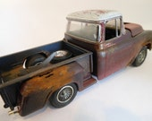Classicwrecks Chevy Rusted Scale Model Pickup Truck