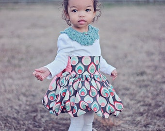 Baby Daphne's Bubble Skirt and Top Sewing PDF Pattern sizes newborn to 18/24 mos.