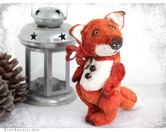 PATTERN Download to create teddy like Fox 6 inch