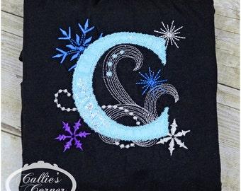 Ice Princess Initial Shirt