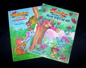 Vintage Children's Book Bundle - The Wuzzles - 2 Books - 1986