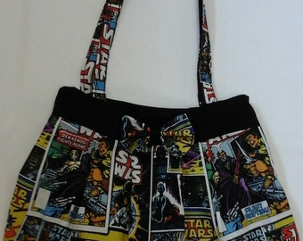 Star wars comic strip bag