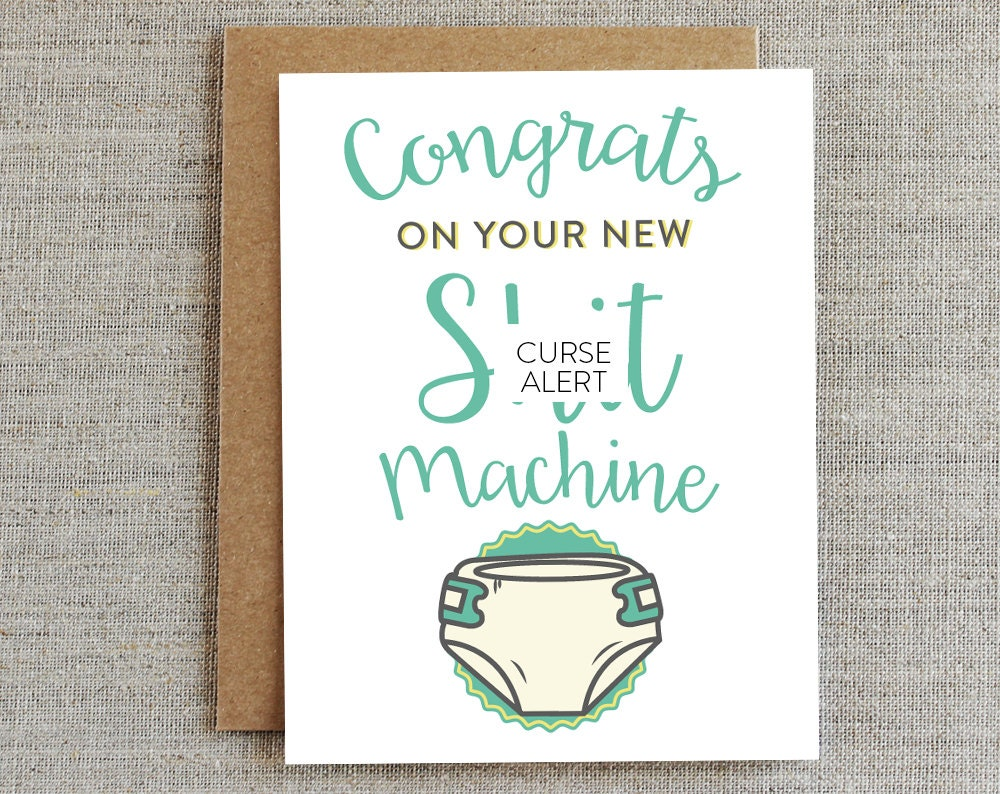 funny baby card new baby card funny new parents card