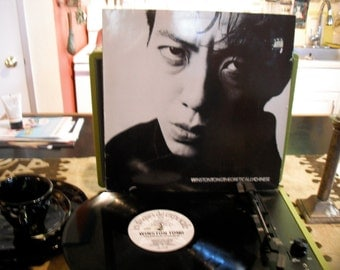 Winston Tong Theoretically Chinese 1985 Tuxedomoons vocalist Solo Lp Via Les Disques du Crepuscule