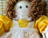 Handmade Doll, Child Friendly,Washable, Cuddly, Removeable Clothes, and Loves to be Hugged