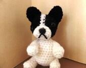 french bulldog crochet amigurumi toy dog