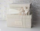 Wedding Card Box Wedding Money Box Gift Card Box - Custom Made