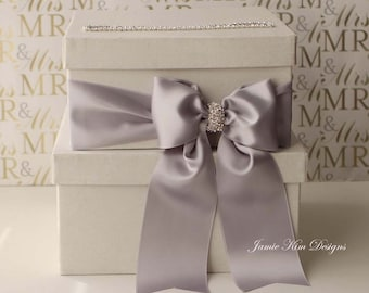 Wedding Card Box Money Box Gift Card Holder - Choose your own color
