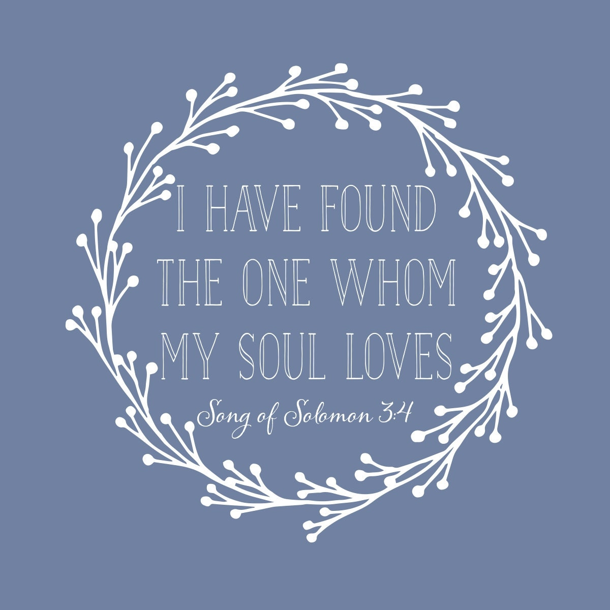Song Of Solomon I Have Found The One Whom My By
