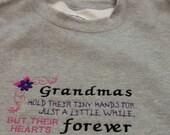 Grandmas crew neck sweatshirt