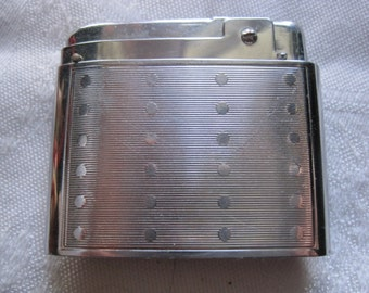 Vintage Schick Silver Cigarette Lighter