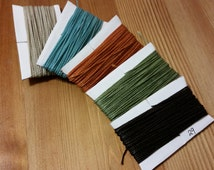 5 Colors to Choose/ 10.6 mt EACH/ LINHASITA Macrame String/ Sample Pack (Choose Any Color in Stock)