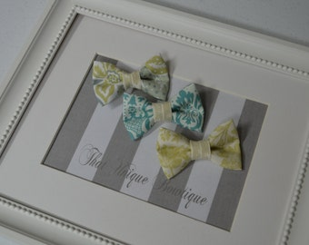 Set of Three Photography Prop Bow Ties...Baby Boy Bow Tie...Photography Prop...Newborn Bow Tie...Photo Prop Bow Tie...Bow Tie