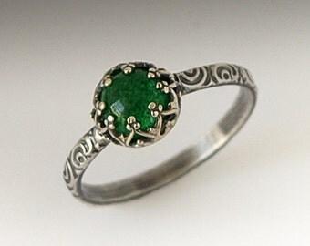 green jade ring etsy. Black Bedroom Furniture Sets. Home Design Ideas