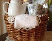 Violet Teacup Gift Basket -FREE SHIPPING- ND016