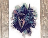 Spirit Deer 8x10 Archival Print
