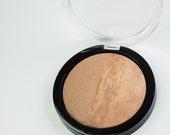 De Leche  Mineral Makeup Bronzer Blush Pressed Compact