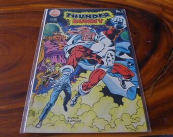 Thunder Bunny #1 comic book vintage comix
