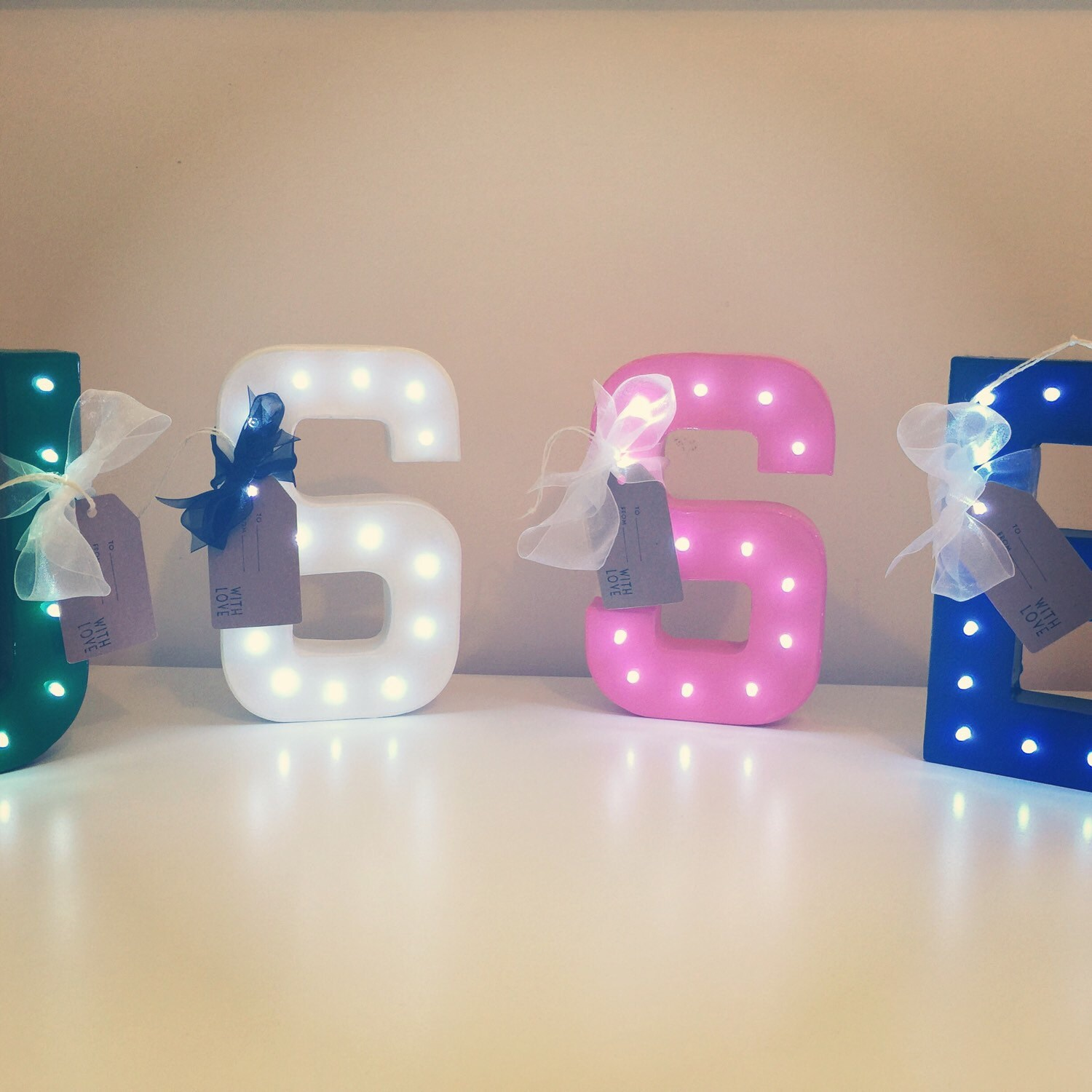 Light up Letter. Marquee Circus light. Battery by SWEETINDIGO
