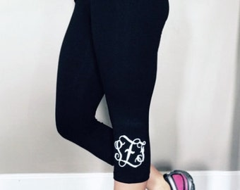 Monogrammed Capri Legging!!