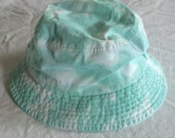 Adult Sea Glass Tie Dye Bucket Cap