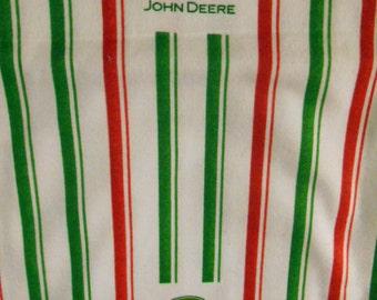 Flannel John Deer fabric, tractors