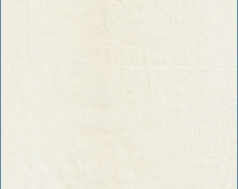 "60"" Natural Muslin Fabric-25 Yards Wholesale by the Bolt"