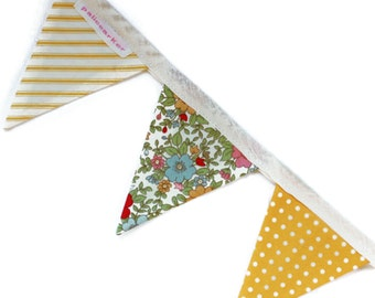 July - Handmade Mini Bunting by palicearker