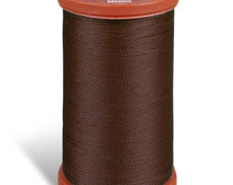 Sewing Thread, Upholstery Thread, 8960 Chona Brown Coats and Clark Upholstery Button Thread, Extra Strong Nylon, 150 yds